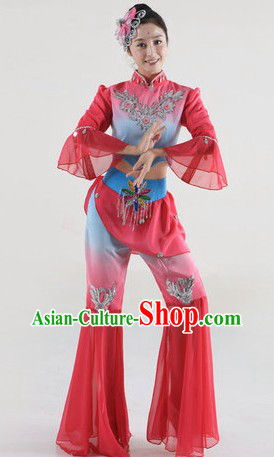 Chinese Spring Festival Dance Costumes for Women