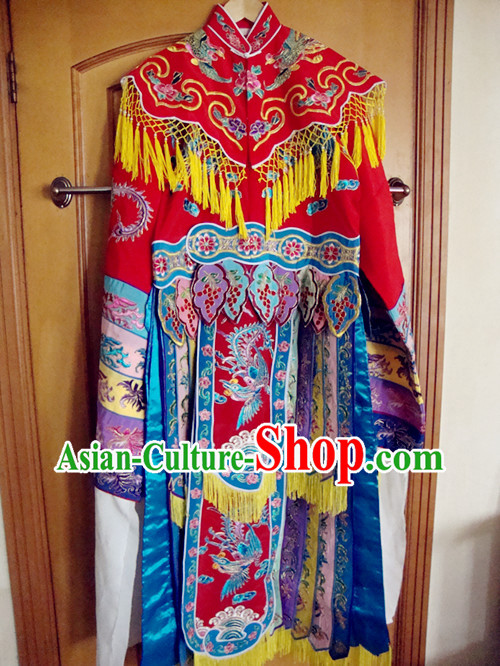The Drunken Beauty Yang Guifei Embroidered Phoenix Robe for Women