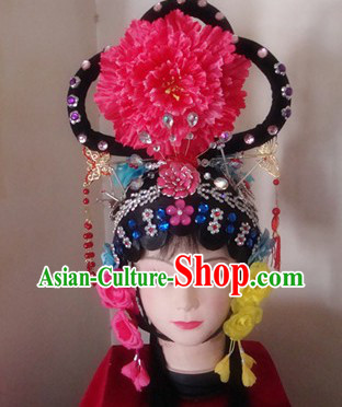 Chinese Classic Dramatic Wig and Headpiece Set