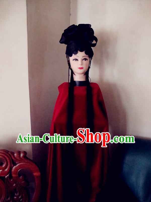 Chinese Classic Palace Long Black Wig for Women