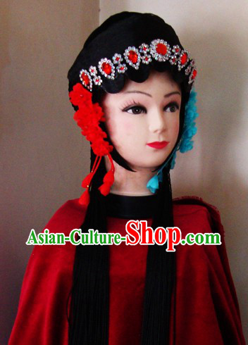 Chinese Classical Palace Long Black Wig for Women