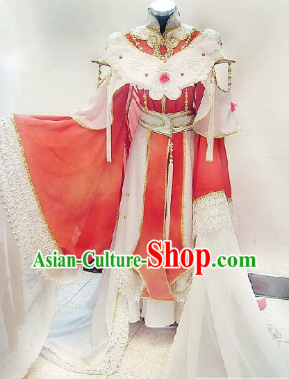 Chinese Classical Princess Butterfly Costumes Complete Set