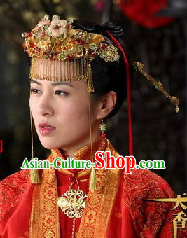 Chinese Classical Wedding Coronet for Brides
