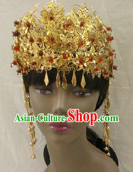 Chinese Classical Wedding Phoenix Coronet for Brides
