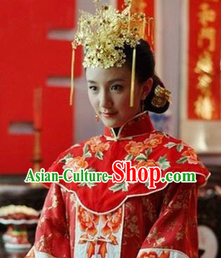 Chinese Classical Wedding Butterfly Shape Phoenix Coronet for Brides