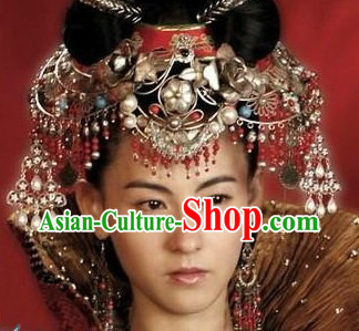 Ancient Chinese Wedding Hair Accessories for Brides