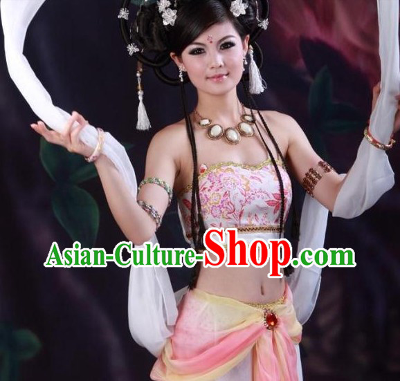 Chinese Traditional Dunhuang Flying Fairy Costumes