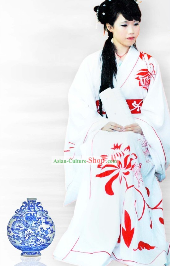 Ancient China Zhiju Garment Han Fu Rpbe for Women