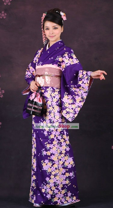 Traditional Japanese Formal Wear Kimono for Women