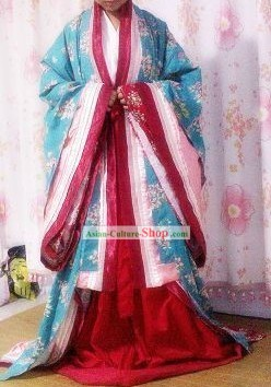 Traditional Japanese Palace Kimono Costumes for Women