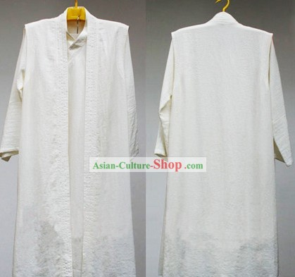 Daoist Priest White Kung Fu Uniform