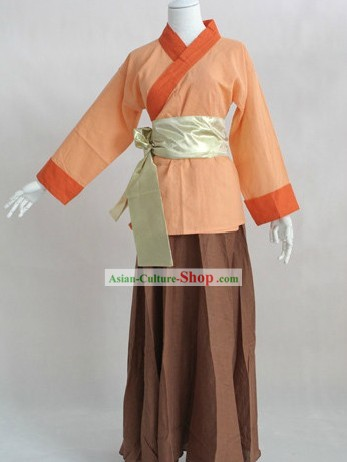Ancient Chinese Waiter Costume