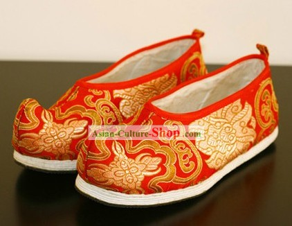 Ancient Chinese Handmade Wedding Shoes