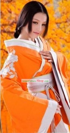 Ancient Chinese Hanfu Female Costume Complete Set