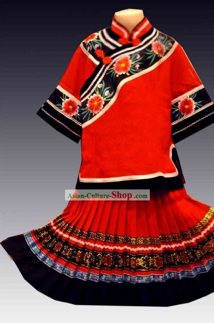 Traditional Chinese Ethnic Clothing for Children