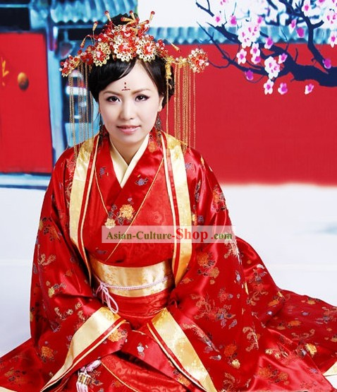 Chinese Classical Brides Phoenix Wedding Dress