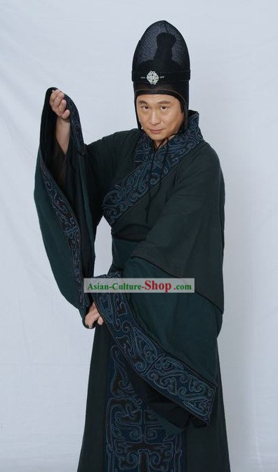Ancient Chinese Government Official Costumes for Men