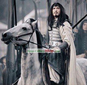 Ancient General Ma Chao Costumes Complete Set for Men