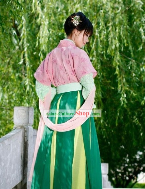 Ancient Chinese Banbi Clothing for Girls