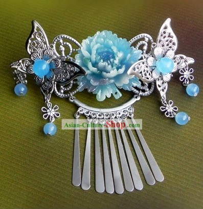 Traditional Chinese Handmade Butterfly and Flower Hair Accessories