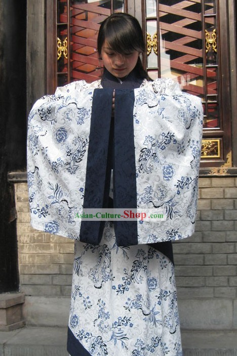 Traditional Chinese Quju Hanfu Clothing Complete Set for Women