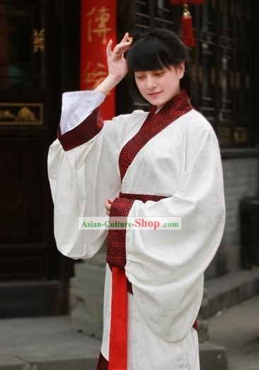 Traditional Chinese Quju Apparel Complete Set for Women