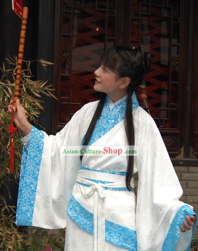 Ancient Chinese Quju Hanfu Clothing for Women