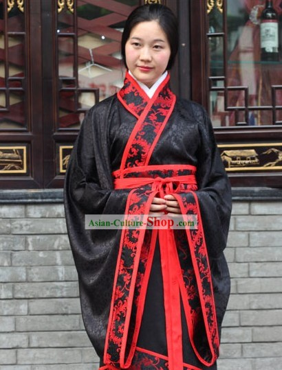 Ancient Chinese Palace Hanfu Clothing Complete Set for Women
