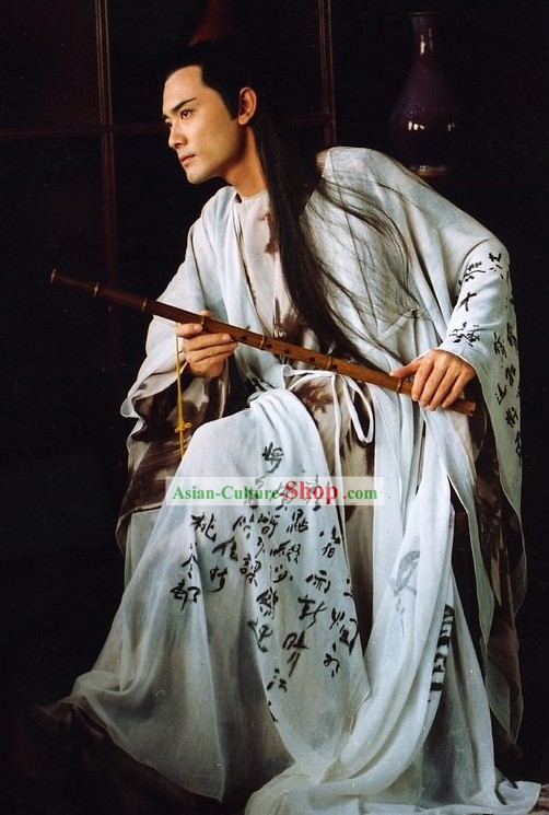 Ancient Chinese Tang Dynasty Poet Costumes for Men