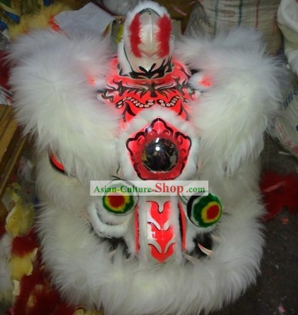 Supreme Business Opening and Collection Hok San Lion Dance Costume Complete Set