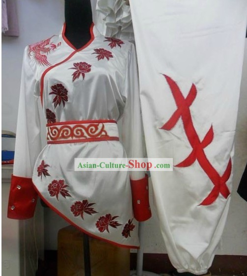 Southern Fist Nanquan Silk Kung Fu Dress for Women