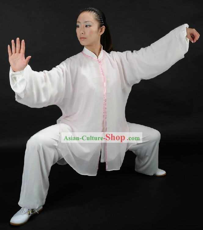Traditional Chinese Tai Chi Competition Clothing for Women
