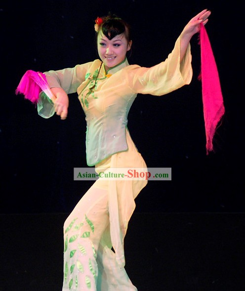 Chinese Folk Dance Costume for Women