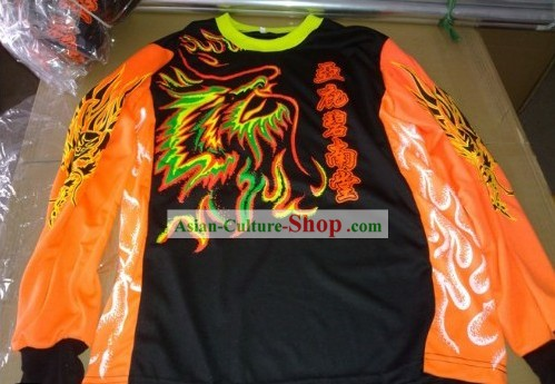 Luminous Lion Dancer and Dragon Dancer Blouse and Pants Uniform