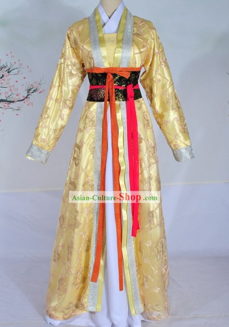 Ancient Chinese Chu State Princess Clothing Complete Set