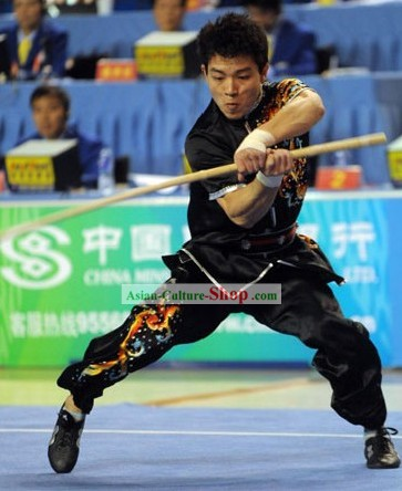 Chinese Silk Tai Chi Competition Clothing for Men