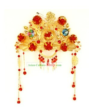 Ancient Chinese Bride Wedding Crown