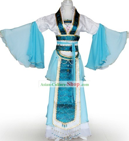 Ancient Chinese Tea Ceremony Costumes for Women