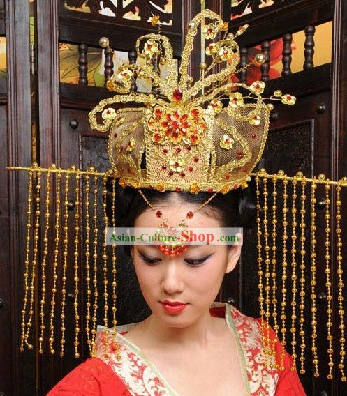 Ancient Chinese Style Palace Empress Crown