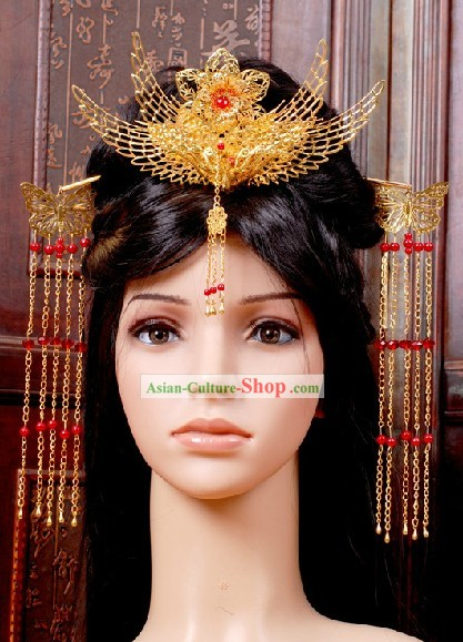 Ancient Chinese Bride Wedding Hair Accessories
