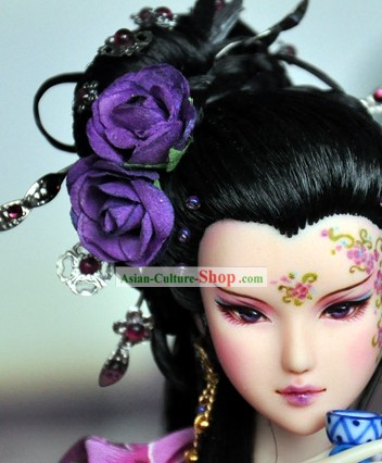 Ancient Chinese Hair Accessories and Wig for Women