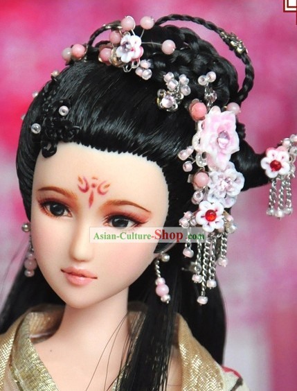 Ancient Chinese Imperial Princess Hair Accessories and Wig for Women