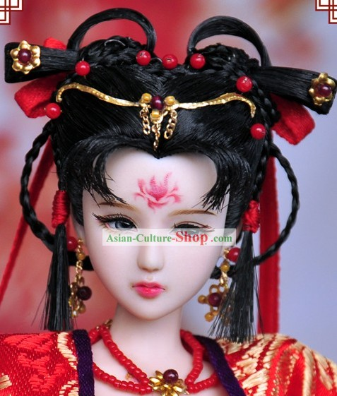Ancient Chinese Female Hair Accessories and Wig