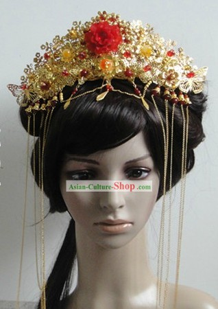 Chinese Classic Bride Wedding Hat
