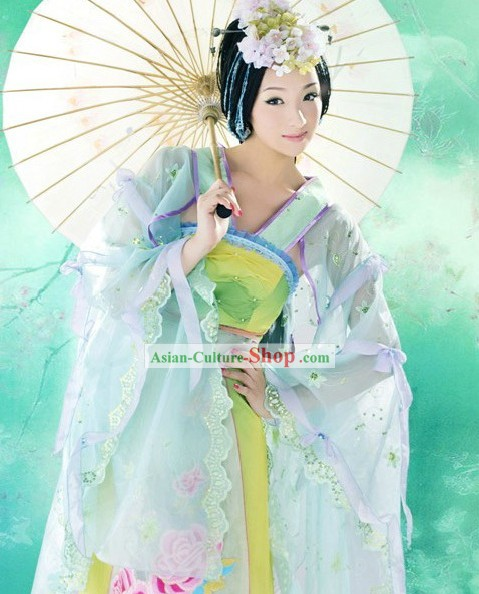 Ancient Chinese Palace Lady Costumes Complete Set