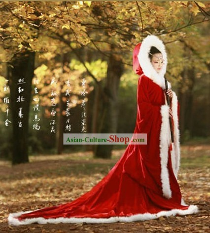Ancient Wang Zhaojun Shawl Costumes for Women