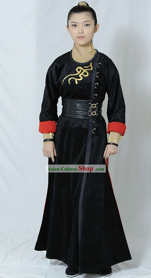 Ancient Chinese Swords Woman Costumes Complete Set