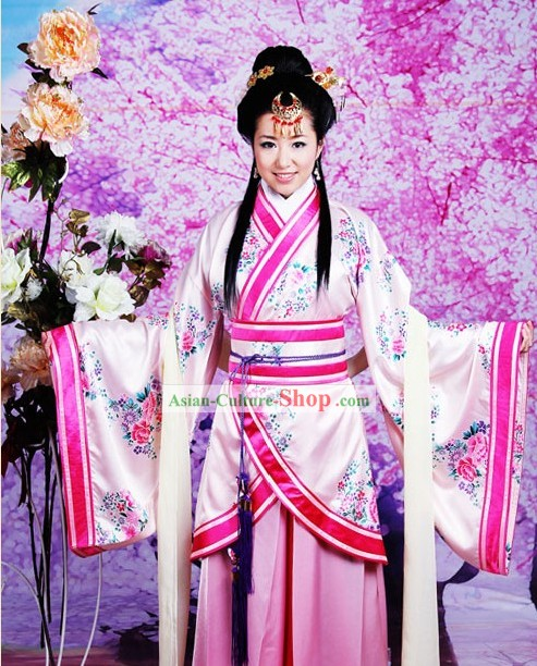 Ancient Chinese Lady Hanzhuang Clothing for Women