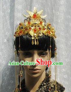 Chinese Classical Handmade Wedding Flower Headpiece Hairpins for Women
