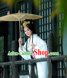 Traditional Chinese Princess Hanfu Clothing and Accessories for Women
